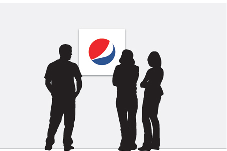 evolution of the pepsi logo