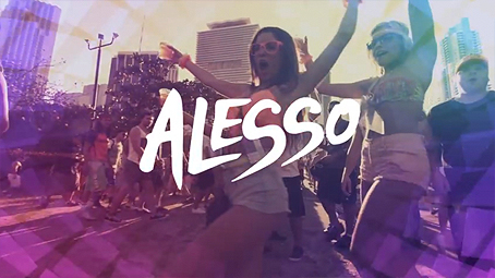 Alesso logo from Ultra Music Festival trailer