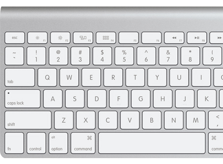 DesignTalk: Flat is cool Apple Keyboard 454