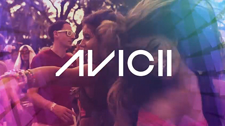 Avicii logo from Ultra Music Festival trailer