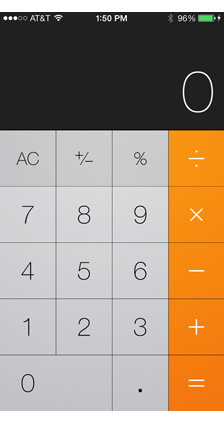 DesignTalk: Flat is cool Calculator