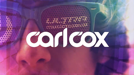 Carl Cox logo from Ultra Music Festival trailer