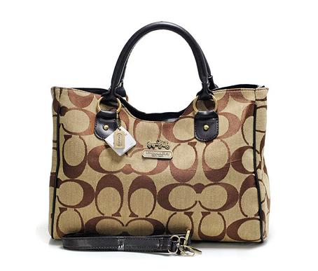 Coach logo handbag