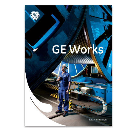 GE Works poster with small logo