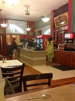 Great Indian Food interior