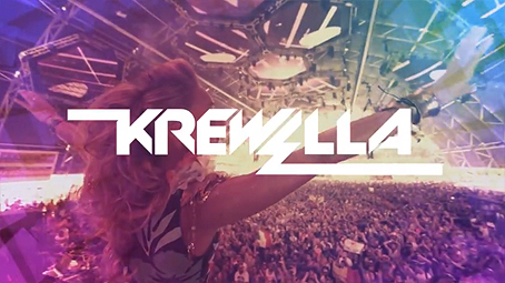 Krewella logo from Ultra Music Festival trailer