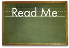 Read Me Chalkboard