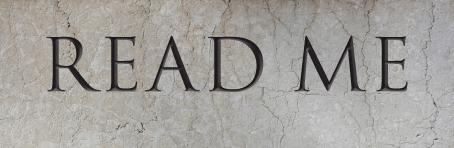 Read Me Stone