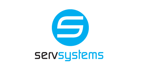 ServSystems logo S enclosed