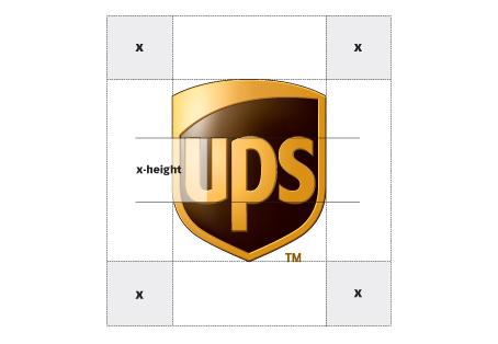 UPS logo standards