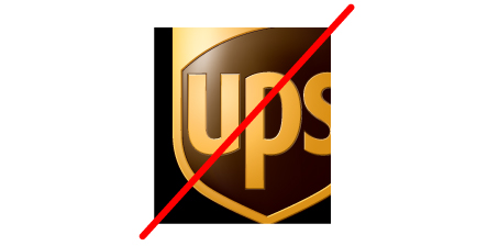 UPS logo standards do not crop